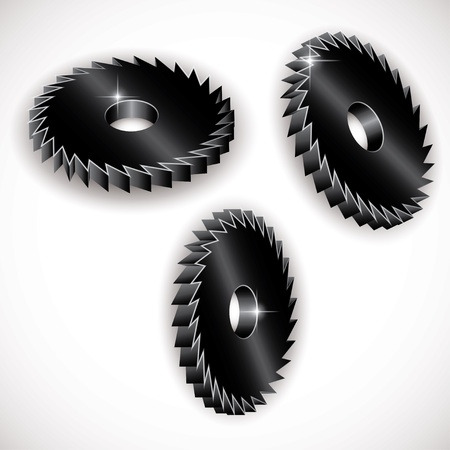 icon of metal gears. vector eps10 Stock Vector - 20322296