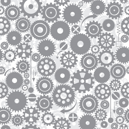 gear motion: gears. seamless background. vector. eps8 Illustration