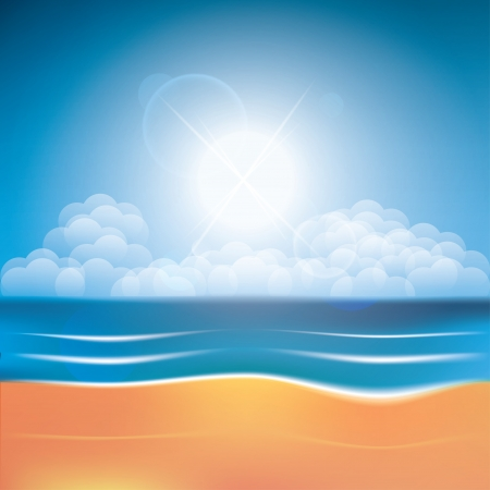 summer of your dreams. summer background. vector eps10 Stock Vector - 20330113
