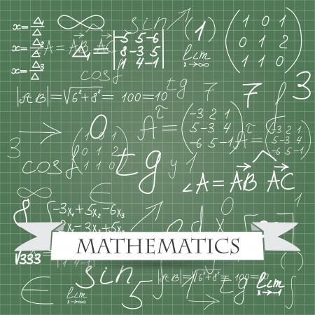 physics background: mathematics. vector background eps10