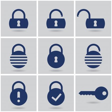 login icon: icons padlocks.