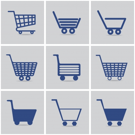 cart: icons shopping cart.