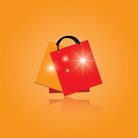 icons shopping bags icon. Vector
