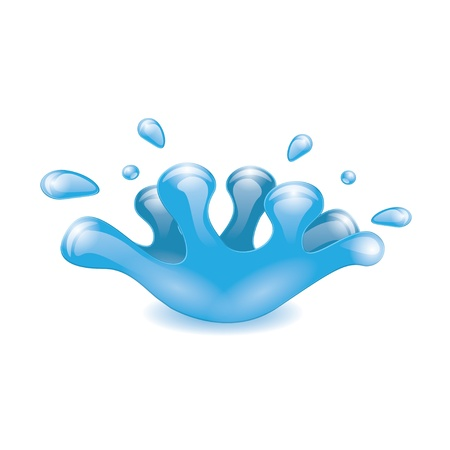 water splash. Stock Vector - 21572265
