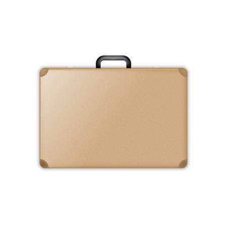 suitcase icon. isolated.  Vector