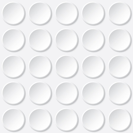 buttons background. white texture. vector eps10 Vector