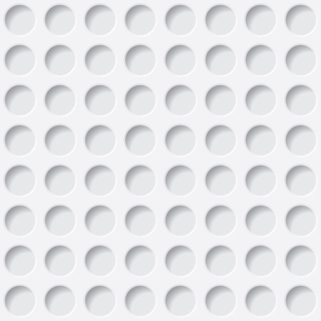 white circles texture. seamless background. vector eps10 Illustration