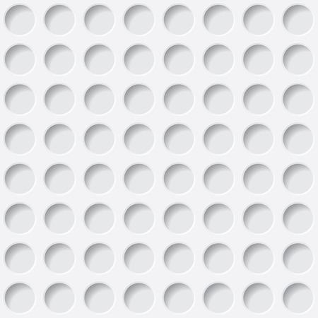 witte cirkels textuur. naadloze achtergrond. vectoreps10