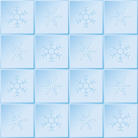 winter pattern of snowflakes. seamless background. vector eps8 Vector
