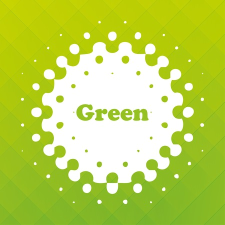 green mosaic background  vector illustration  eps10 Vector