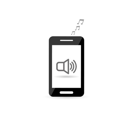 pc tune: music from your phone  vector eps10