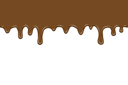 flowing chocolate  seamless