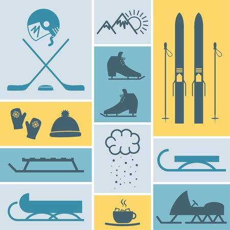 sports leisure activities Illustration