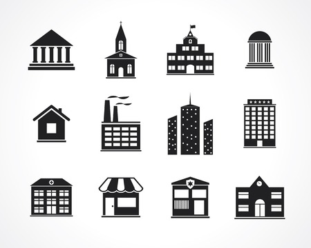 church building: building icons