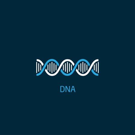 Dna-Symbol Standard-Bild - 34455579