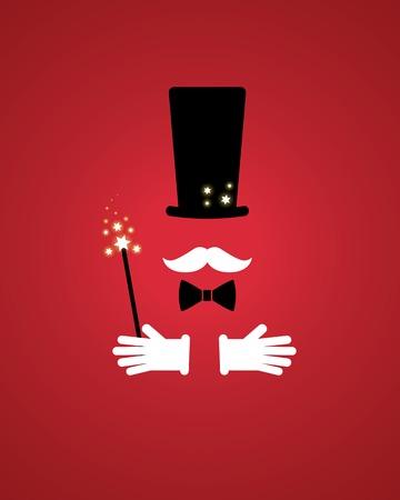 Zauberer Requisiten Standard-Bild - 34603350