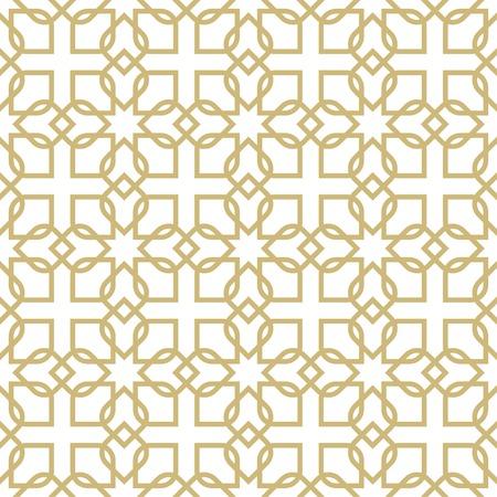 gulf: arabic pattern. seamless ornamental background Illustration