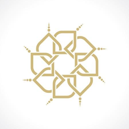 royal logo: geometric arabic pattern