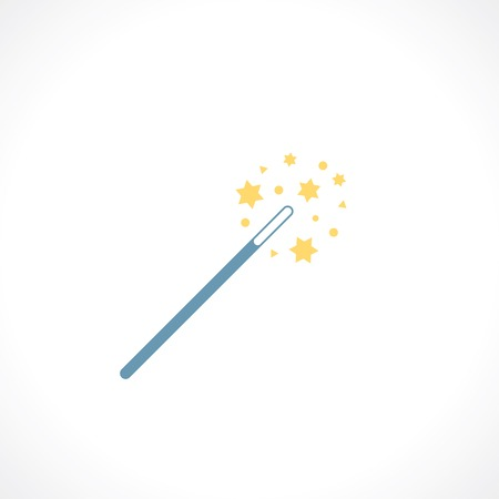 props: icon of magic wand Illustration