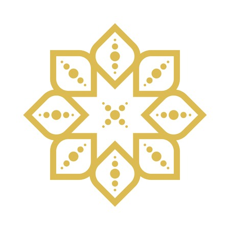 arabic style: geometric arabic pattern
