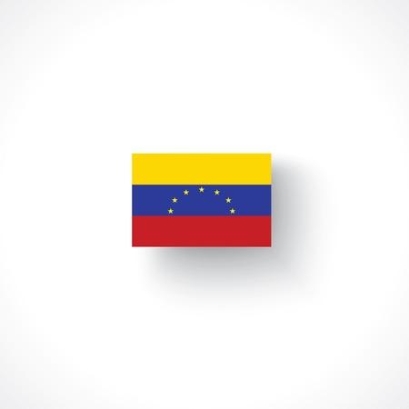mapa de venezuela: bandera de Venezuela