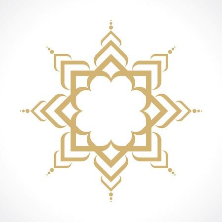 oriental arabic pattern Stock Illustratie