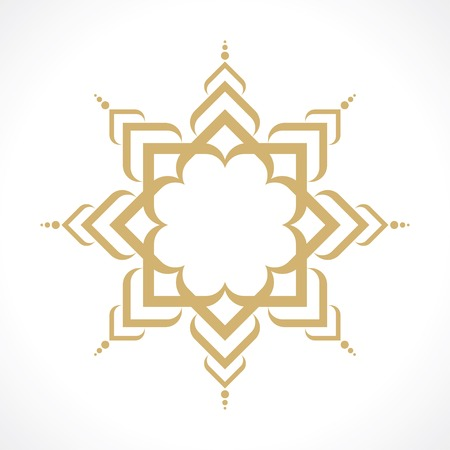oriental arabic pattern Illustration