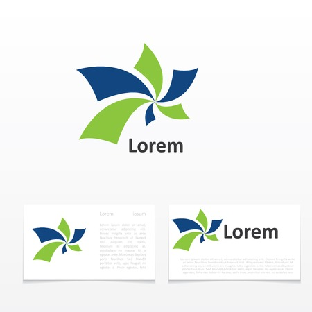 design objects: abstract symbol. template icon design