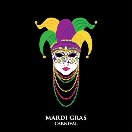 mardi: mardi gras mask