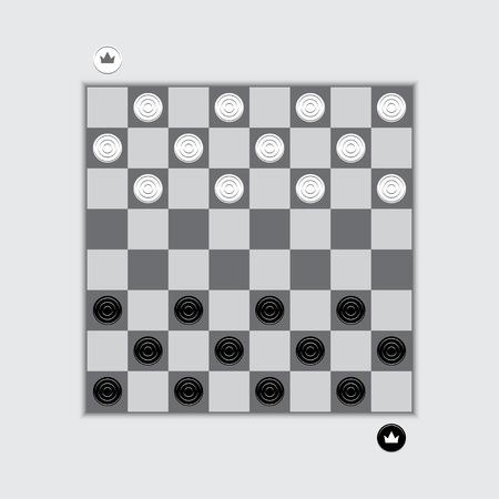 checkerboard: checkerboard with checkers
