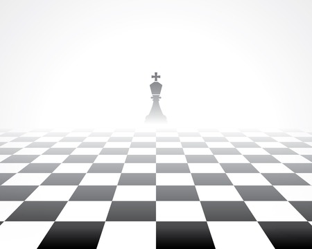 light game: chess board. abstract background