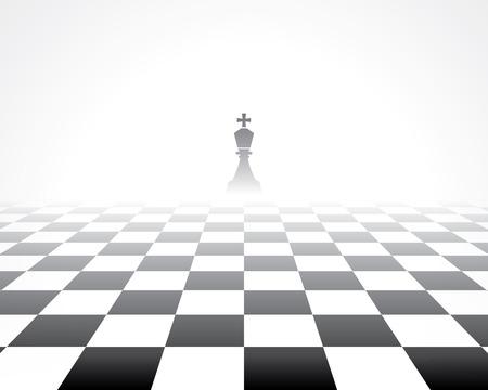 schaakbord. abstracte achtergrond Stock Illustratie