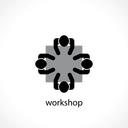 business workshop concept icon