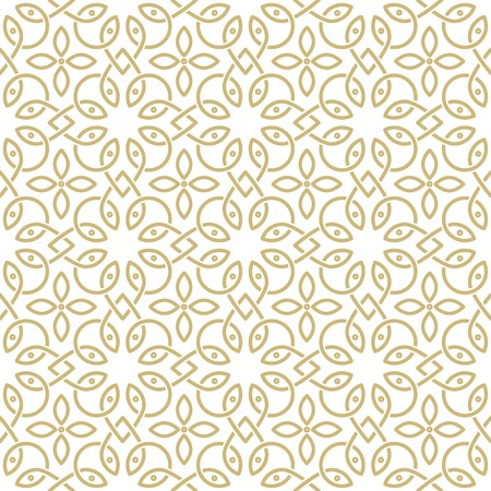 arabic motif: oriental seamless ornamental pattern