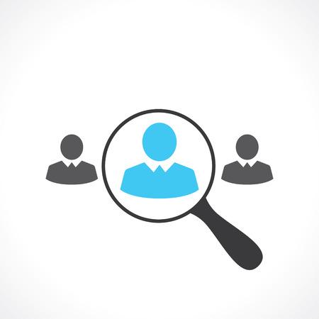 Recherche d'employés Banque d'images - 39030002