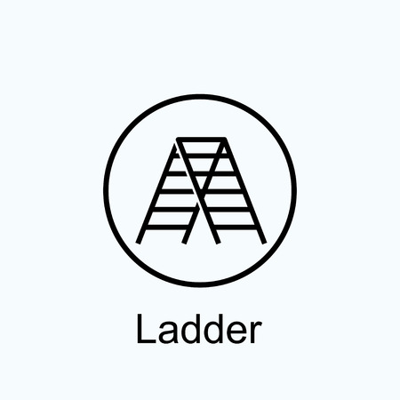 ladder: ladder icon Illustration