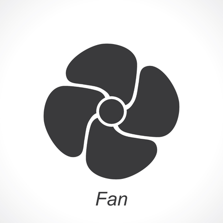 aeration: icon of fan