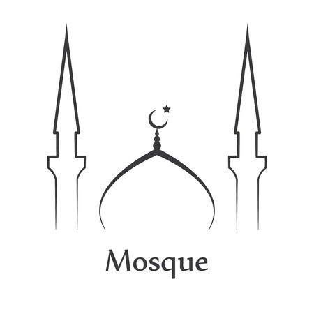 mosque: mosque Illustration