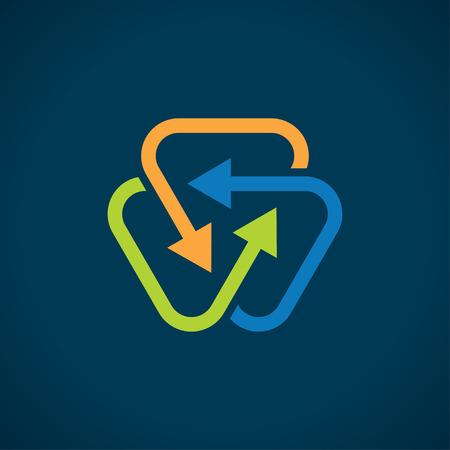 interact: interact arrows abstract symbol
