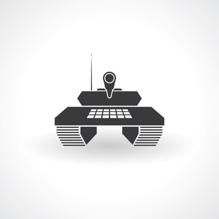 tank icon Illustration
