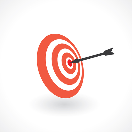 hit right in the bullseye. target icon
