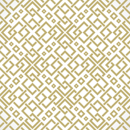 persia: interweaving of lines oriental seamless pattern