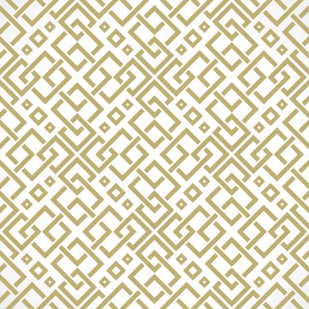 interweaving: interweaving of lines oriental seamless pattern