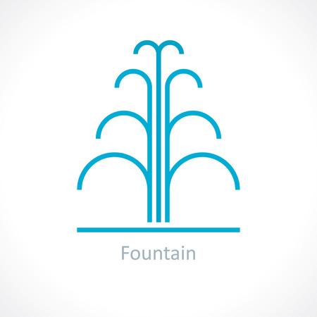 water fountain Illustration
