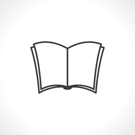 newspaper icon: open newspaper icon Illustration