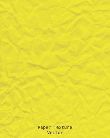 Textura de papel de fondo amarillo