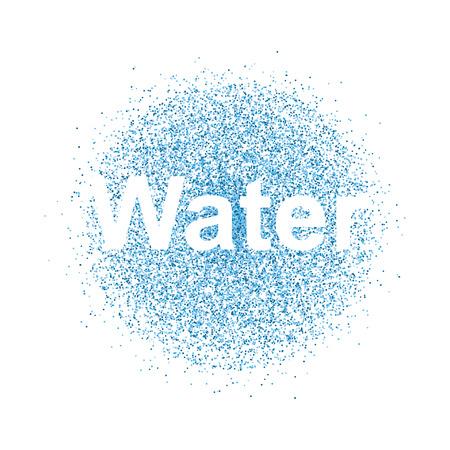 water spray: water spray Illustration