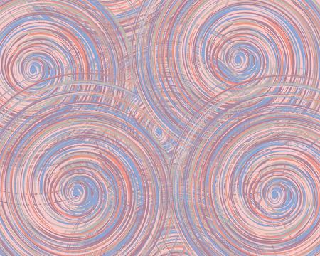 Muster von Kreisen Illustration