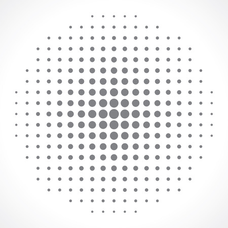effect: halftone effect background