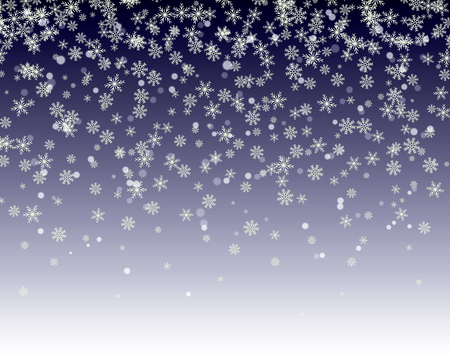 snowflakes fall. winter background